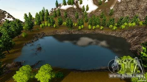 Countryside Mountains V para GTA 4 tercera pantalla