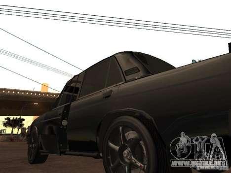 Vaz 21065 para GTA San Andreas vista hacia atrás