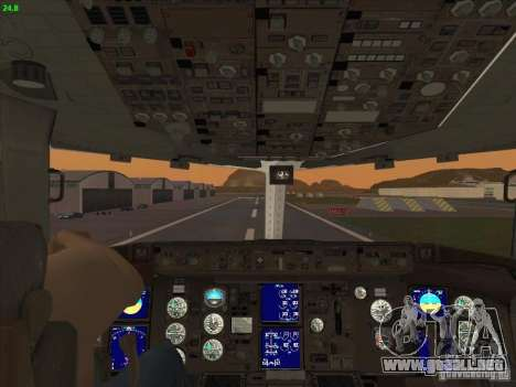 Boeing 767-300 LOT Polish Airlines para la vista superior GTA San Andreas