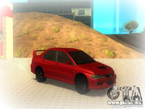 Mitsubishi Lancer Evolution IX MR 2006 para GTA San Andreas