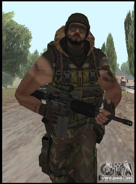 [Point Blank] Terrorist para GTA San Andreas segunda pantalla