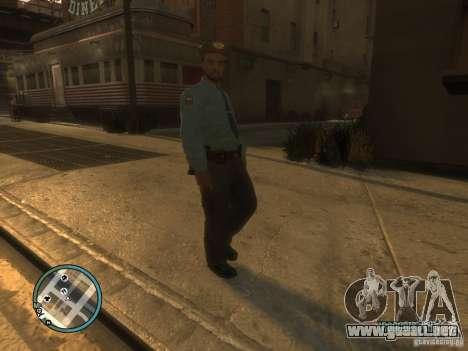 Russian Cops para GTA 4 adelante de pantalla