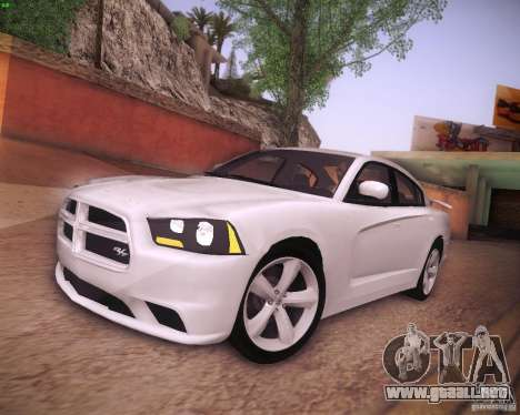 Dodge Charger 2011 v.2.0 para GTA San Andreas left