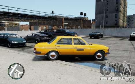 Mercedes-Benz 230 E Taxi para GTA 4 visión correcta