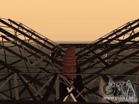 Huge MonsterTruck Track para GTA San Andreas octavo de pantalla