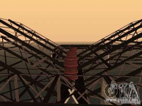 Huge MonsterTruck Track para GTA San Andreas octavo de pantalla