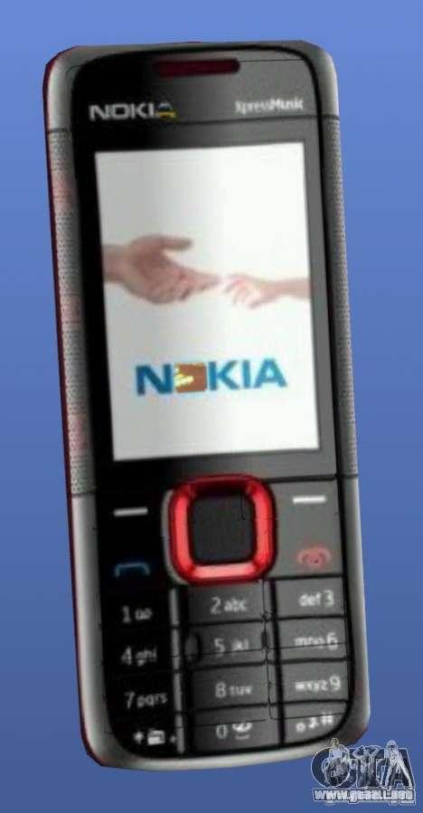 Teléfono móvil Nokia 5130 Xpressmusic para GTA 4