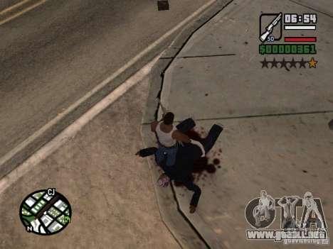 Nuevo patrón de sangre para GTA San Andreas segunda pantalla