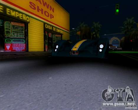 Caterham Lola SP300R para visión interna GTA San Andreas