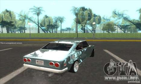 Mazda RX-2 2-door Coupe US para GTA San Andreas left