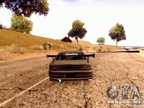 Nissan Silvia S15 By Blaze para GTA San Andreas left