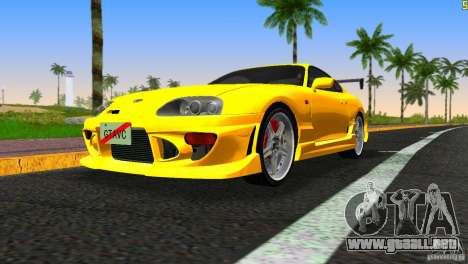 Toyota Supra JZA80 C-West para GTA Vice City