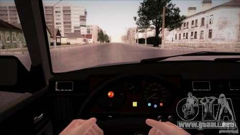 GAZ 31029 para visión interna GTA San Andreas