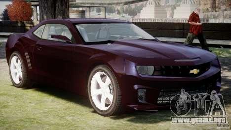 Chevrolet Camaro SS 2009 v2.0 para GTA 4 left