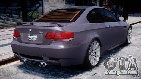 BMW M3 E92 stock para GTA motor 4