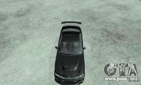 NISSAN SILVIA S14 CHARGESPEED FROM JUICED 2 para la visión correcta GTA San Andreas