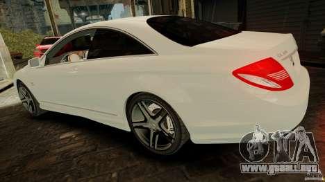Mercedes-Benz CL65 AMG Stock para GTA 4 visión correcta