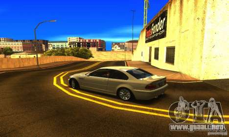 BMW M3 Tuneable para GTA San Andreas left