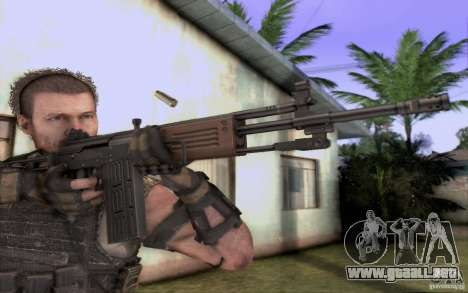 IMI GALIL AR para GTA San Andreas segunda pantalla