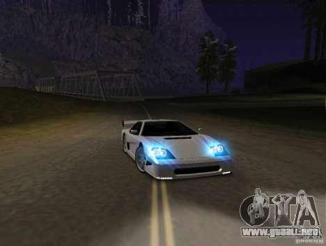 Azik Turismo para GTA San Andreas left