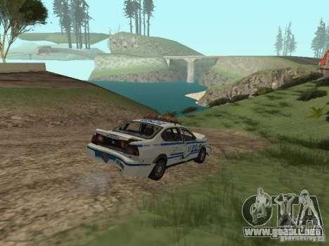 Policía de GTA 4 para vista lateral GTA San Andreas