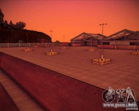 Portland para GTA San Andreas segunda pantalla