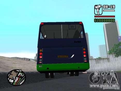 LIAZ 5256.25-II para GTA San Andreas vista posterior izquierda