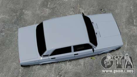 VAZ-2107 2011 DAG para GTA 4 visión correcta