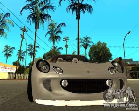 Lotus Exige para la visión correcta GTA San Andreas