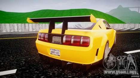 Ford Mustang GT-R para GTA 4 visión correcta