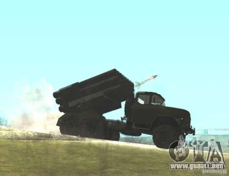 ZIL-131 en Grad para la visión correcta GTA San Andreas