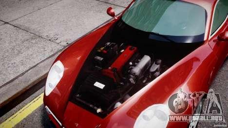 Alfa Romeo 8C Competizione para GTA 4 vista hacia atrás