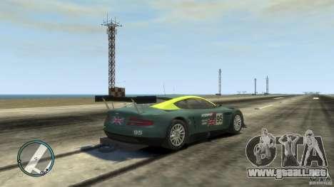 Aston Martin DBR9 para GTA 4 visión correcta