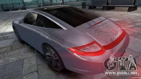 Porsche Targa 4S 2009 para GTA 4 left