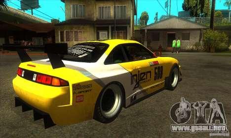Nissan Silvia S14 GT para la visión correcta GTA San Andreas