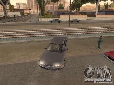 BMW 740 para visión interna GTA San Andreas