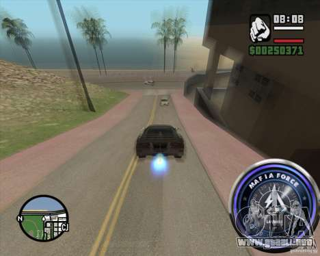 Velocímetro-2 para GTA San Andreas tercera pantalla