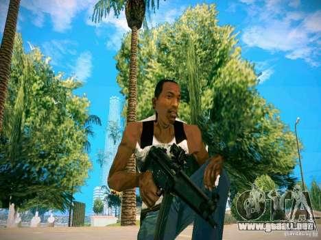 Armas Pack HD para GTA San Andreas quinta pantalla