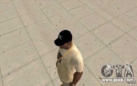 Gorra fox para GTA San Andreas