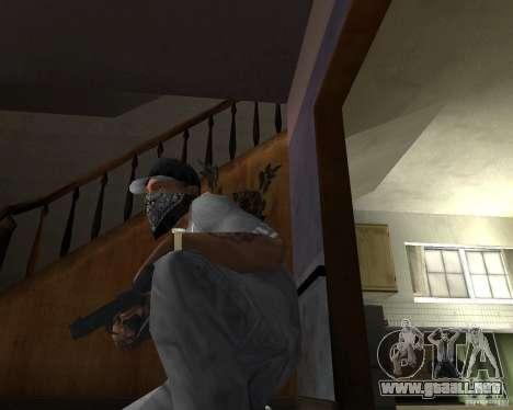 M9 para GTA San Andreas tercera pantalla