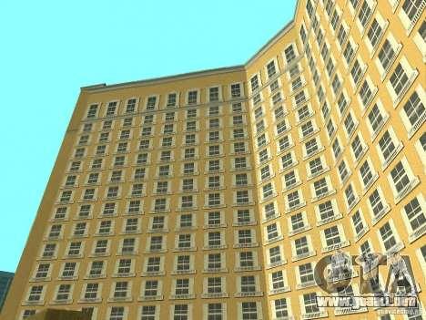 Nuevas texturas para casino Visage para GTA San Andreas quinta pantalla
