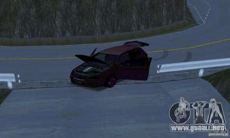 Volkswagen Golf V JDM Style para visión interna GTA San Andreas