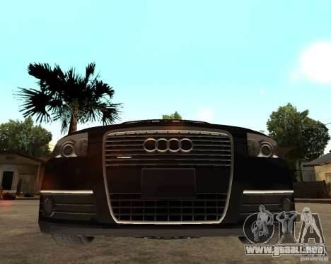 Audi A6 3.0 TDI Quattro para la visión correcta GTA San Andreas