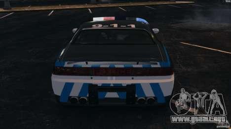 NFSOL State Police Car [ELS] para GTA 4 vista desde abajo