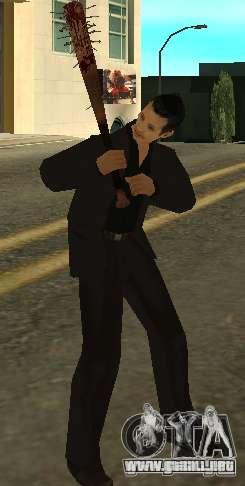 Pedacitos del sangrientos con clavos HD para GTA San Andreas tercera pantalla