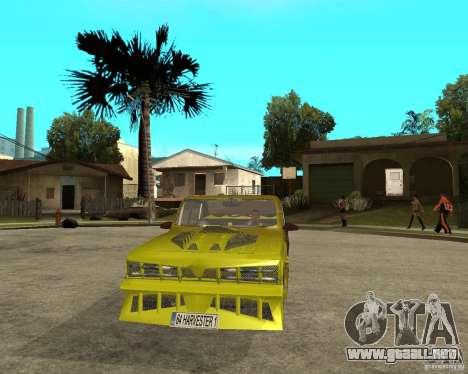 Anadol GtaTurk Drift Car para GTA San Andreas vista hacia atrás