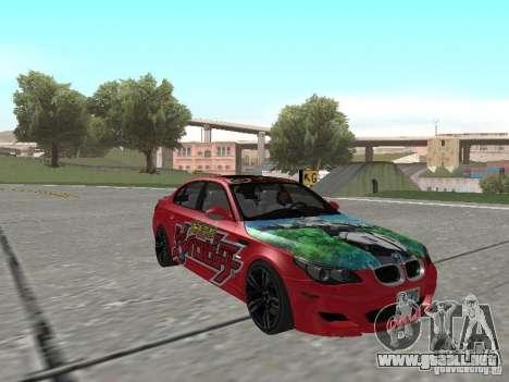 BMW M5 E60 para el motor de GTA San Andreas