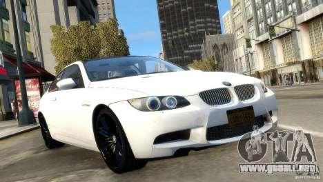 BMW M3 E92 2008 v1.0 para GTA 4 visión correcta