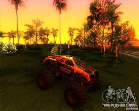 Monster Truck Maximum Destruction para GTA San Andreas
