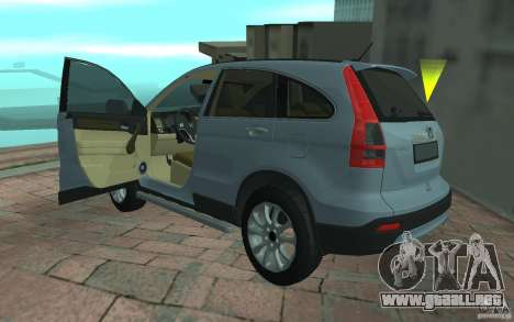 Honda CR-V para GTA San Andreas left